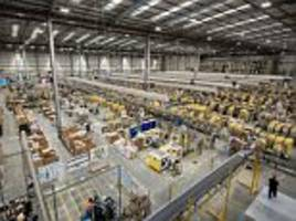 Amazon warehouse gears up for Black Friday 2017