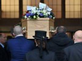 hundreds attend funeral of lancashire father shot dead