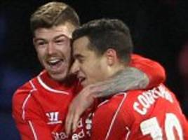 liverpool: alberto moreno wants philippe coutinho to stay