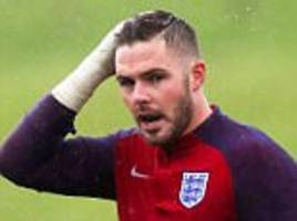 Stoke keeper Jack Butland could be back in under a month