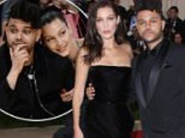 the weeknd said to be 'still' in love with ex bella hadid