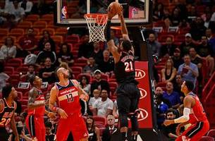 Heat struggle to slow down John Wall, Bradley Beal in loss to Wizards