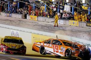 The wreck that cost Carl Edwards a championship