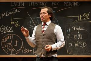 'latin history for morons' broadway review: john leguizamo explains it all