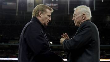 Goodell-Jones Feud Escalates As NFL Accuses Cowboys Owner Of Conduct Damaging To The League