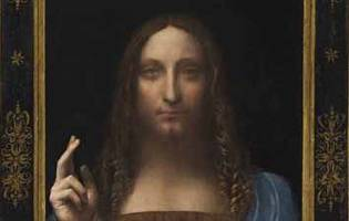 leonardo painting sells for a record $450 million (or 62,500 bitcoin)