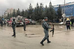 at least 7 killed in suicide bomb blast in afghanistan