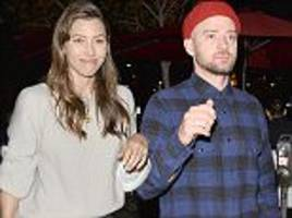 jessica biel and justin timberlake enjoy date night in la
