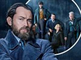 jude law takes on the role of young albus dumbledore