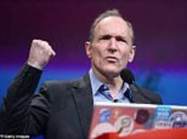 Tim Berners-Lee warns about internet's future