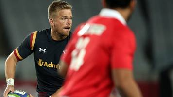 gareth anscombe: blues fly-half to return after almost five months out