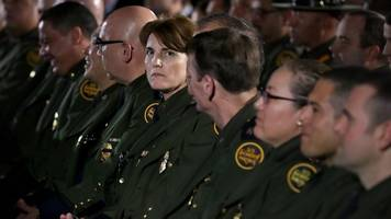 number of women in federal law enforcement has been frozen for decades