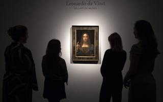 a da vinci painting has smashed records after being sold for $450m