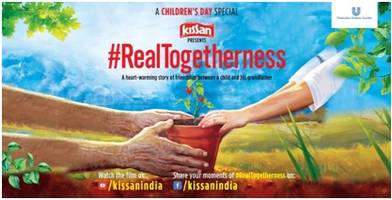 kissan reminds us of the joy of #realtogetherness with grandparents