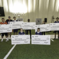 Celebrating Student Champions and Bringing Out the Competitive Spirit in Local Media Celebrities at Reliant's Inaugural Flag Football Game