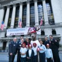 The Hartford Rings Closing Bell At New York Stock Exchange On Nov. 16 To Honor 70th Anniversary Of Its Junior Fire Marshal® Program