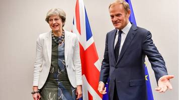 Brexit: EU gives May two weeks to act on divorce bill and Ireland