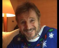 Watch: Liam Neeson dons festive jumper to support NI Children's Hospice's Christmas campaign