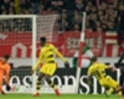 Stuttgart 2 Borussia Dortmund 1: Bosz pressure builds after more Burki mishaps