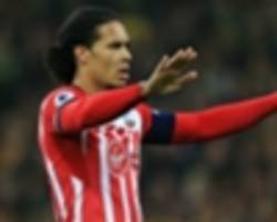 'everybody has a price' - pellegrino can't rule out liverpool target van dijk being sold