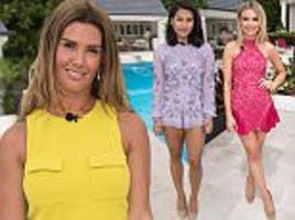 i'm a celeb 2017 stars meet for the first time