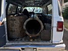 Mexican cops discover abandoned van with homemade BAZOOKA