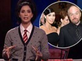 sarah silverman emotionally addresses louis ck incidents