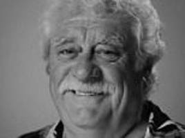 late benidorm star bobby knutt performs his own eulogy