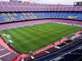 barcelona nou camp could be closed for independence chants