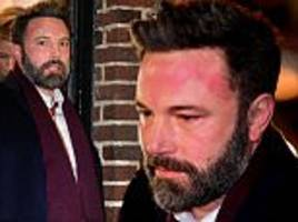 ben affleck left red-faced after grilling by colbert