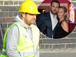 danny dyer spotted filming amid reconciliation rumours