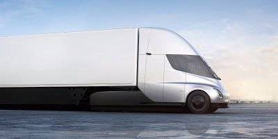 Here's a first look at Tesla's electric semi (TSLA)