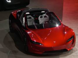 Watch Tesla unveil a brand new Roadster, which Musk says will be the fastest production car ever made