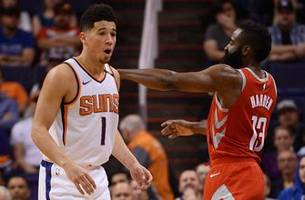 Suns burned by Rockets' 90-point first-half explosion