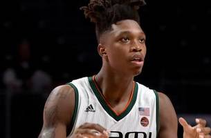 miami's lonnie walker iv should be ok to play in hometown next week