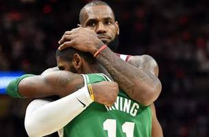 Chris Broussard reveals why Lebronzo will never happen if Kyrie's Celtics beat the The King's Cavs in the ECF