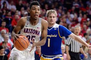 Arizona gets 28 from Trier, rolls past Cal State Bakersfield