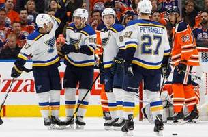 power play, short-handed, even strength: blues do it all, 4-1 over oilers