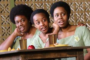 'school girls' theater review: how tina fey inspired a play set in ghana