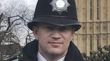 pc shaun cartwright pays tribute to pc keith palmer