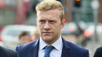 ulster rugby player stuart olding denies rape