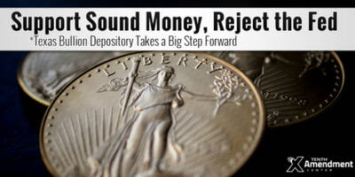 another step forward for sound money: location picked for texas gold depository