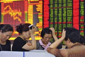 traders puzzled after chinese media warning triggers market selloff
