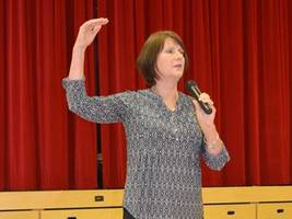 Love is the answer, daughter of Holocaust survivor tells Waterdown students:Jeannie Opdyke Smith shared mother's story at WDHS
