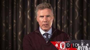 Newcastle to beat Man Utd 10-0 - Will Ferrell's Premier League predictions