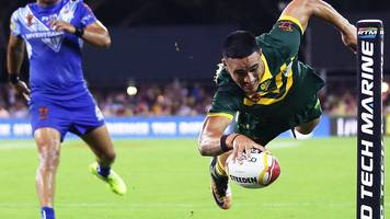 Rugby League World Cup 2017: Australia 46-0 Samoa highlights