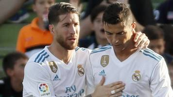 Real Madrid: Cristiano Ronaldo and Sergio Ramos have not fallen out - Zinedine Zidane
