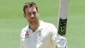 Ashes: Dawid Malan hits century before England stutter in warm-up game