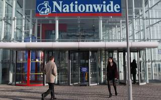 nationwide profits fall as mortgage borrowing flattens out