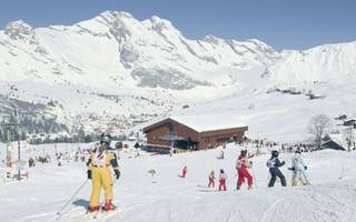 why annecy is the perfect ski trip with kids in tow